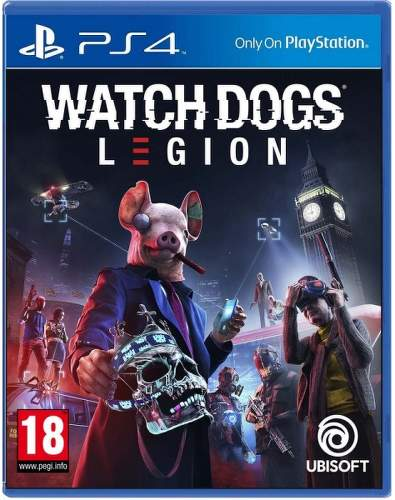Watch Dogs Legion PS4 hra