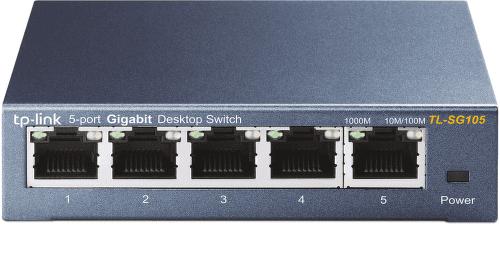 TP-LINK TL-SG105 5-port Gigabit Switch