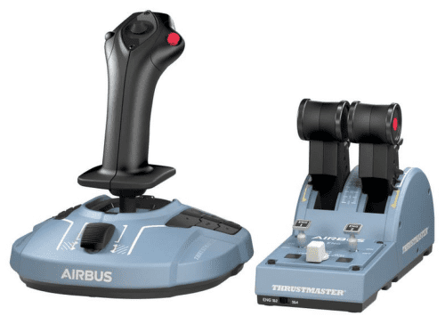 Thrustmaster TCA Officer Pack Airbus sivý