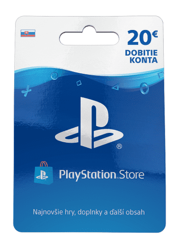 Sony PlayStation Live Cards 20 EUR