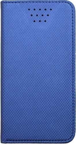 """Mobilnet univerzálne knižkové puzdro pre uhlopriečku 4,7""""-5,3"""", modrá"""