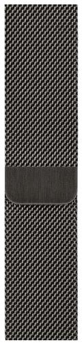 Apple Watch 44 mm remienok milánsky ťah grafitovo šedý