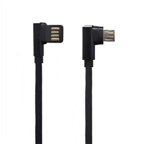 Mobilnet dátový kábel Micro USB 1 m 2,2 A čierna