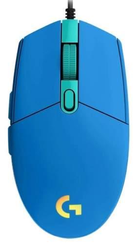 Logitech G102 Lightsync modrá