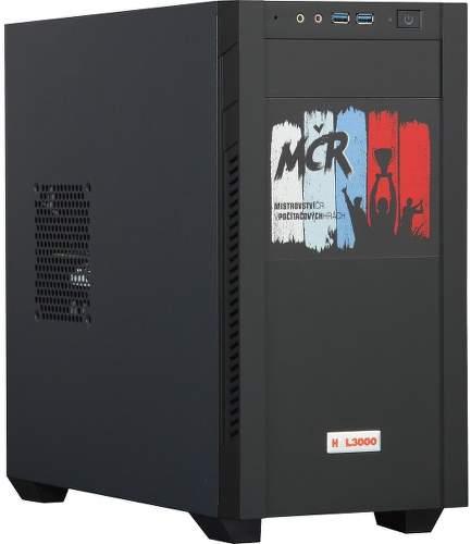 HAL3000 Gamer MČR PCHS2411 čierny
