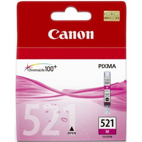 CANON CLI-521M, MAGENTA Ink Cartridge, BL SEC