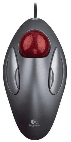 Logitech TrackMan Marble strieborný