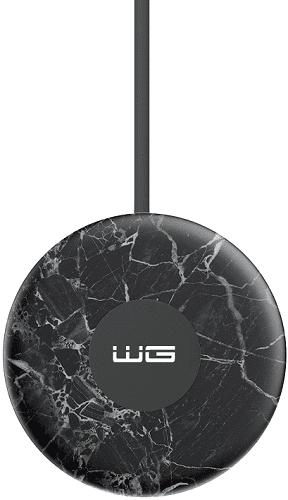 Winner univerzálna bezdrôtová nabíjačka Fast Charge 15W mramorová čierna