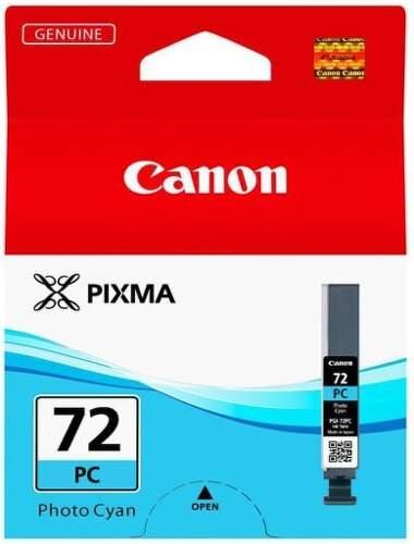 Canon PGI-72 Photo Cyan (6407B001) foto azúrová