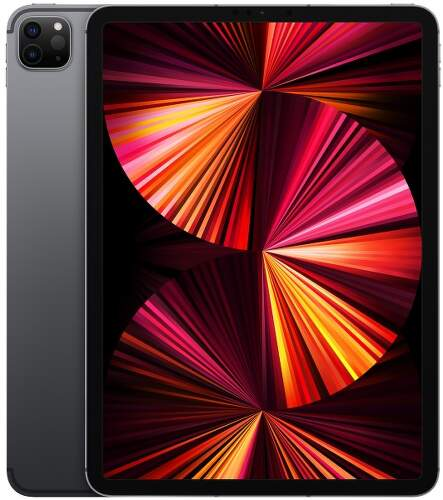 "Apple iPad Pro 11"" M1 (2021) 2TB Wi-Fi + Cellular MHWE3FD/A vesmírne sivý"