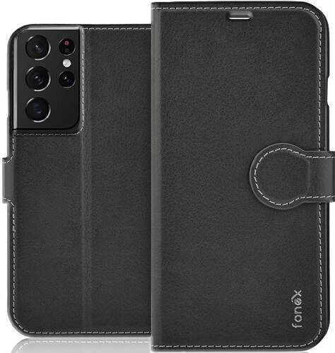 Fonex Identity knižkové puzdro pre Samsung Galaxy S21 Ultra čierna