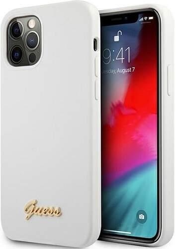 Guess puzdro pre Apple iPhone 12/12 Pro biela