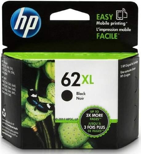 HP 62XL Black (C2P05AE) čierny