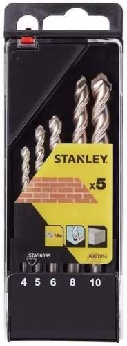 STANLEY STA56099-QZ sada vrtákov do muriva 5 ks