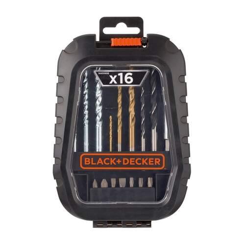 Black&Decker A7186-XJ sada vrtákov a bitov 16 ks.1
