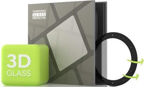 Tempered Glass Protector 3D tvrdené sklo 0,5 mm pre Garmin Vivoactive 4S čierna