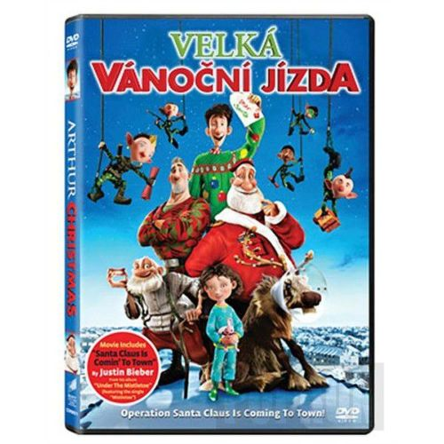 DVD F - Velká vánoční jízda