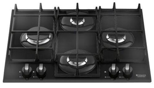 Hotpoint Ariston TQ 640 (BK) K GH/HA, čierna plynová varná doska