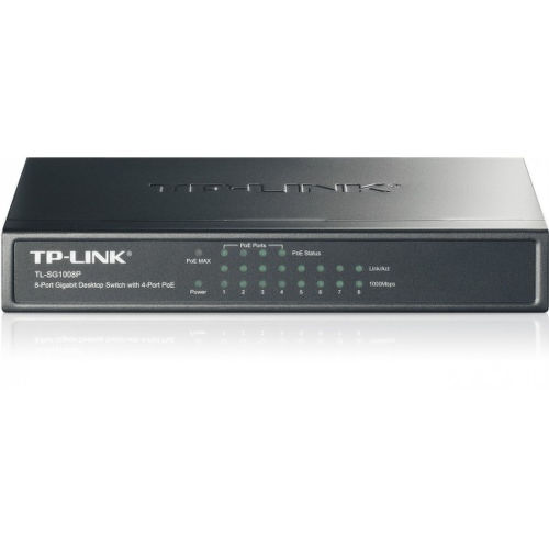 TP-LINK TL-SG1008P 8-port Gigabit Switch