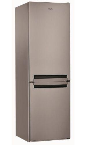 WHIRLPOOL BSNF 8122 OX, nerezová kombinovaná chladnička