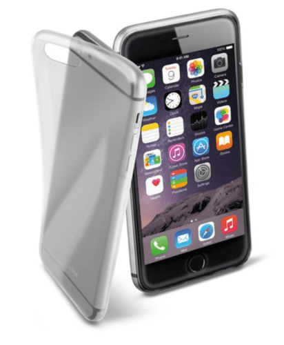 Cellular Line Fine géové puzdro pre iPhone 6 Plus, transparentné