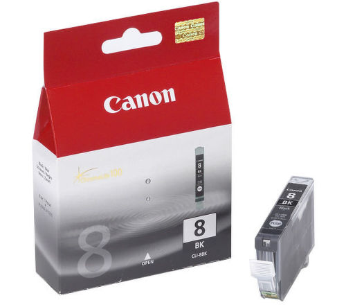 CANON CLI-8 BK, Black ink Cartridge, BL SEC