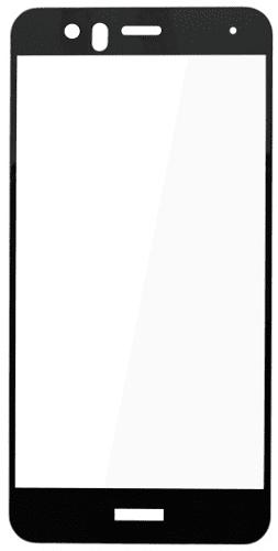 Q sklo tvrdené sklo pre Huawi P10 Lite, čierne