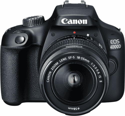 CANON 4000D18-55,75-300, Zrkadlovka