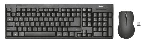 Trust Ziva - CZ/SK klávesnica a myš