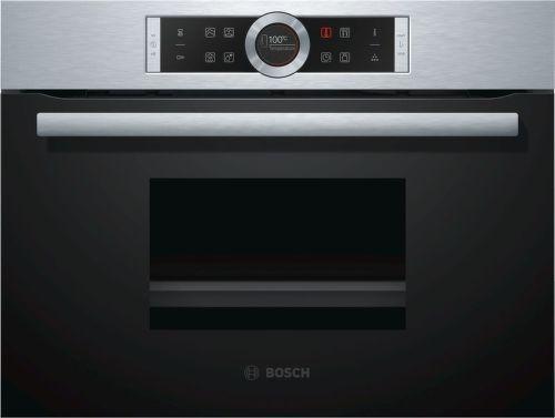 Bosch CDG634BS1, vstavaná parná rúra