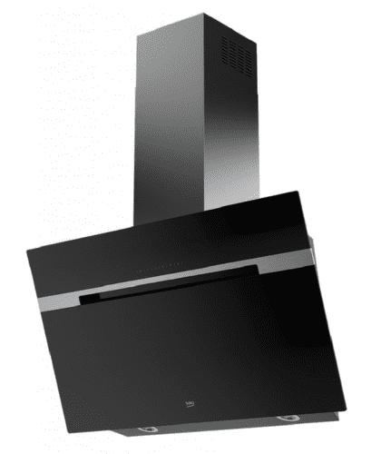 BEKO HCA92741B, čierrny nástenný digestor