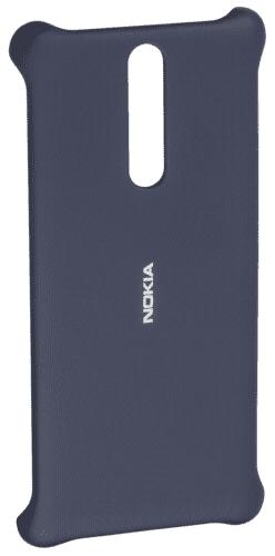 Nokia Soft Touch puzdro pre Nokia 8, modrá
