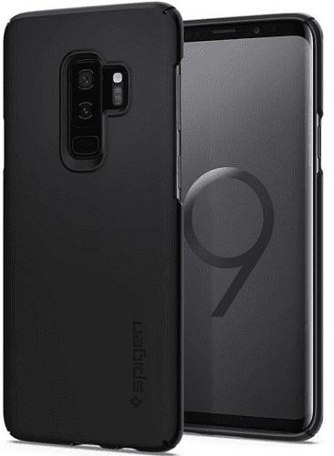 SPIGEN TF SG S9+ Čierne