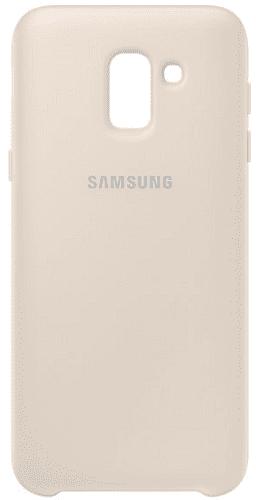 Samsung Dual Layer puzdro pre Samsung Galaxy J6, zlatá