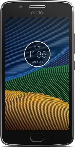 Motorola Moto G5 Single SIM sivý
