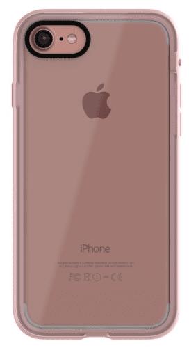 XQISIT Nuson Xcel puzdro pre iPhone 8/7/6S/6, ružové