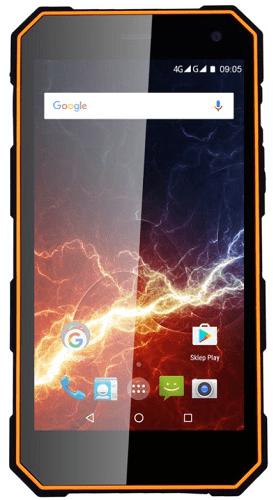 MyPhone Hammer Energy čierno-oranžový