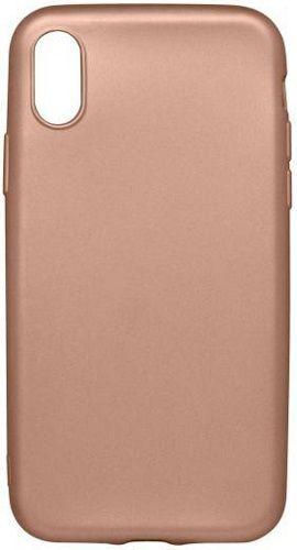 Mobilnet gumené puzdro pre Apple iPhone X, zlatá
