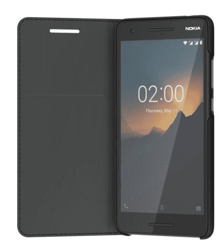 Nokia Slim Entertainment Flip puzdro CP-220 pre Nokia 2.1, čierna