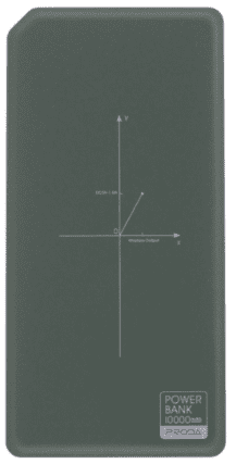 Remax Proda PPP-33 powerbanka 10 000 mAh, zelená