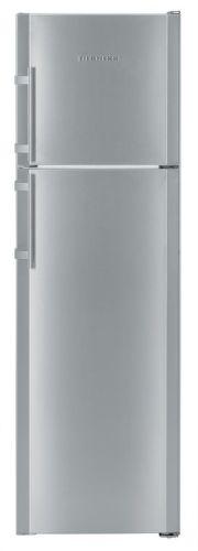 Liebherr CTNesf 3663, strieborná kombinovaná chladnička