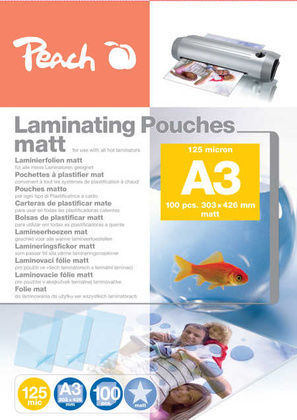 Peach S-PP525-15 A3 100 ks laminovacia fólia