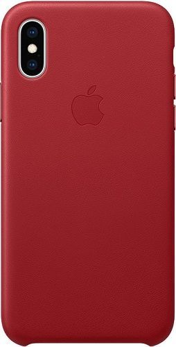 Apple kožené puzdro pre Apple iPhone XS, (PRODUCT)RED