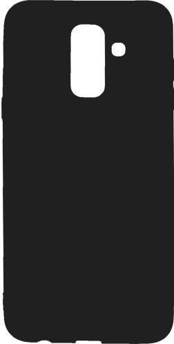 Mobilnet gumené puzdro pre Samsung Galaxy A6+, čierne
