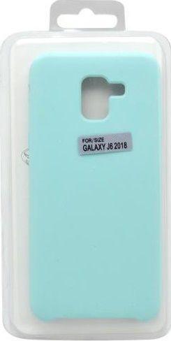 Mobilnet silikónové puzdro pre Samsung Galaxy J6 2018, mentolové