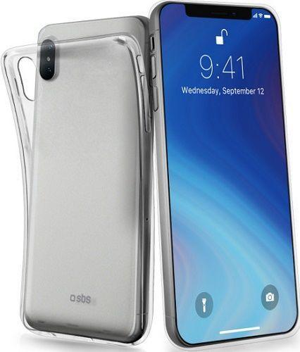 SBS Skinny silikónové puzdro pre Apple iPhone Xs Max, transparentné