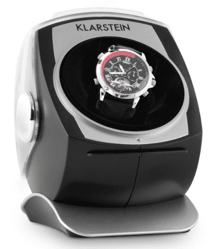 Klarstein Senna čierny, stojan na hodinky