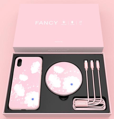 Nillkin Fancy set pre iPhone X, ružová