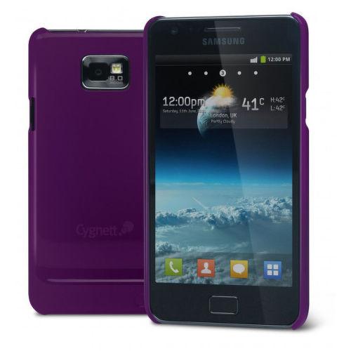 CYGNETT tenký lesklý obal FORM pre Samsung Galaxy S II, fialový