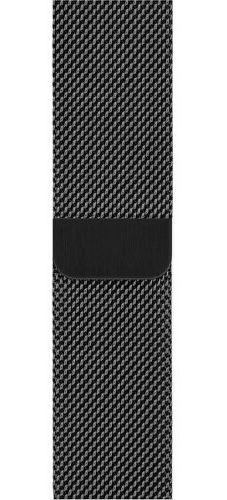 Apple Watch 44 mm remienok milánsky ťah, vesmírne čierny